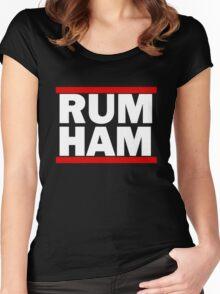It's Always Sunny - Rum Ham Women's Fitted Scoop T-Shirt