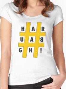 #HARBAUGH Women's Fitted Scoop T-Shirt
