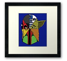 Star Wars Collage Framed Print