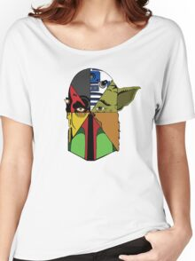 Star Wars Collage Women's Relaxed Fit T-Shirt