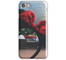 Minnie Ears + Spaceship Earth iPhone Case/Skin
