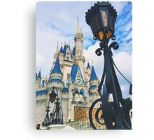 Castle View Canvas Print
