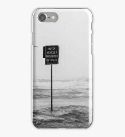 No vehicles!  iPhone Case/Skin