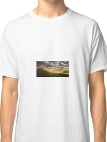 Dawn Cloudy Landscape Nature Fine Art Photography 0001 Classic T-Shirt