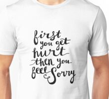 First - Lyric Hand Lettering Unisex T-Shirt