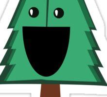 Happy Tree Hugger Sticker