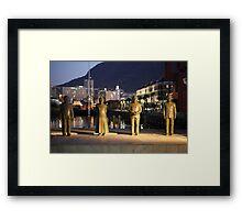 Nobel Square Cape Town  Framed Print