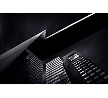 Modern City Building Skyscraper Fine Art Photography 0002 Photographic Print