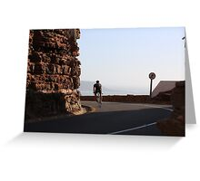 Chapman's Peak Ride in South Africa Greeting Card