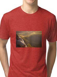 Mountain Landscape Nature Fine Art Photography 0003 Tri-blend T-Shirt