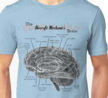 Aircraft Mechanics Brain - Black Unisex T-Shirt