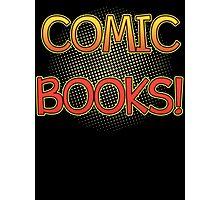 Comic Books T Shirt Photographic Print