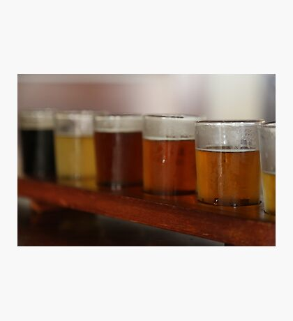 James Squire beer sampler Photographic Print