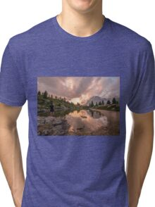 Forest River Nature Fine Art Photography 0005 Tri-blend T-Shirt
