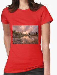 Forest River Nature Fine Art Photography 0005 Womens Fitted T-Shirt