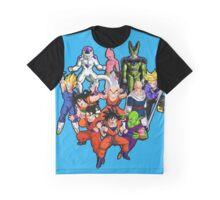 Dragon Ball Characters Graphic T-Shirt