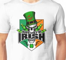 Irish Saint Patrick's Day Skull  Unisex T-Shirt