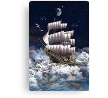 Fantasy Sailingship Canvas Print