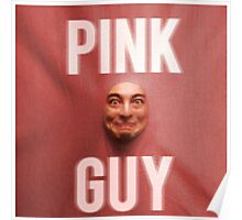 Pink Guy Album Cover Poster