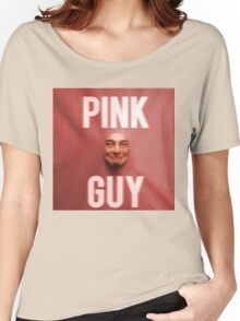 Pink Guy Album Cover Women's Relaxed Fit T-Shirt