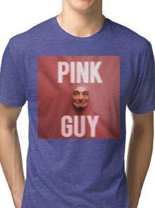 Pink Guy Album Cover Tri-blend T-Shirt