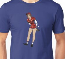 baseball pin up girl Unisex T-Shirt
