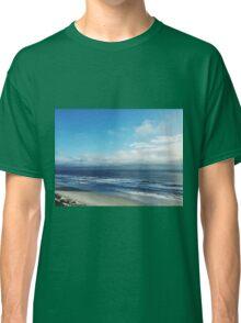 Sunny Beach Cloudy Sky Nature Fine Art Photography 0015 Classic T-Shirt