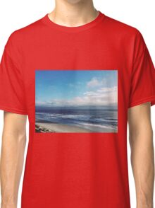 Sunny Beach Cloudy Sky Nature Fine Art Photography 0015 Classic T-Shirt