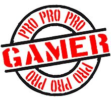 Pro Gamer stamp by Style-O-Mat