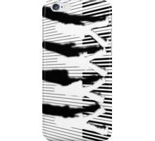 Abbey Road Zebra Crossing Piano Black and White Keyboard   iPhone Case/Skin
