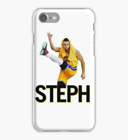 Curry Three Pose iPhone Case/Skin