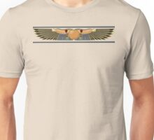 Winged Sun Disk Unisex T-Shirt
