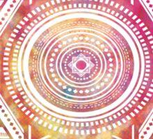 Colourful Pattern Background Sticker