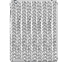 Knit Outline Zoom iPad Case/Skin