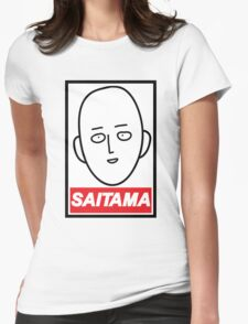 Obey Saitama Womens Fitted T-Shirt
