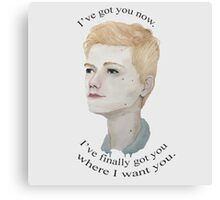 Ive Got You Now Canvas Print