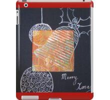Xmas Card Design 5  iPad Case/Skin