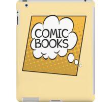 Comic Books Thought Bubble T Shirt iPad Case/Skin