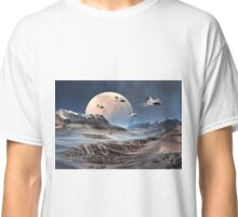 Alien Planet - Fantasy Landscape Classic T-Shirt