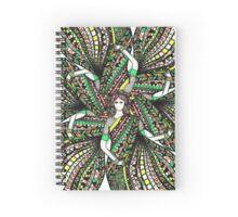 asian woman mandala Spiral Notebook
