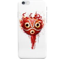 princess mononoke mask iPhone Case/Skin
