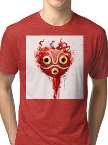 princess mononoke mask Tri-blend T-Shirt