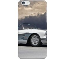 1959 Corvette 'Fuel Injected' Roadster iPhone Case/Skin