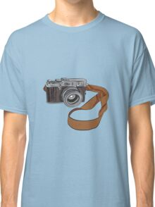 Vintage Camera Drawing Isolated Classic T-Shirt