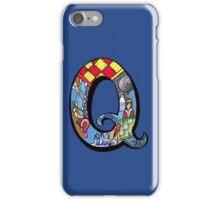 Doodle Letter Q iPhone Case/Skin