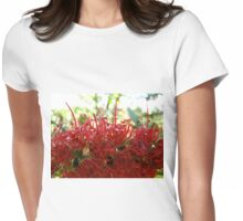 globes of light Womens Fitted T-Shirt