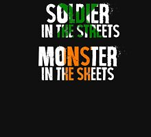 Soldier/Monster Womens Fitted T-Shirt