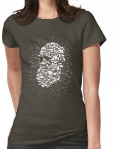 Darwin; Endless Forms Womens Fitted T-Shirt
