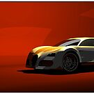 Bugatti Veyron (front) by andreisky