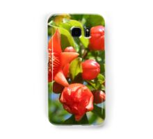 Pomegranate Blossom Samsung Galaxy Case/Skin